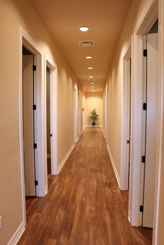 Massage Therapy Temple TX Hallway