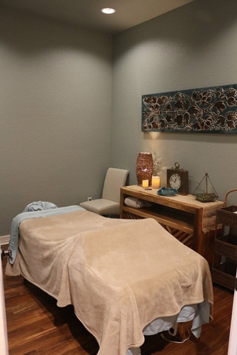 Massage Therapy Temple TX Massage Room