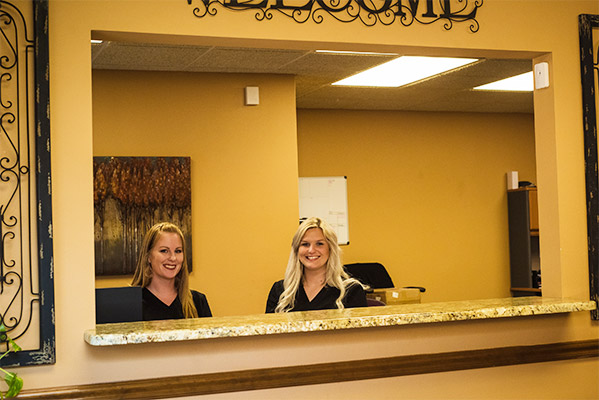 Massage Therapy Waco TX Reception Staff